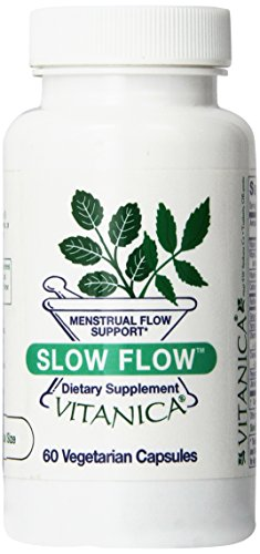 Vitanica - Slow Flow - Menstrual Flow Support - 60 Vegetarian Capsules