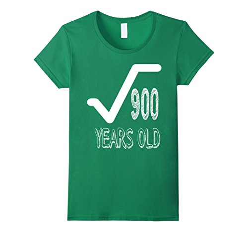Womens 30 Years Old 30th Birthday Men Gift Dude Novelty T-Shirt XL Kelly Green