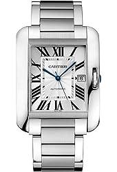 Cartier Tank Anglaise XL Automatic Men's Watch Watch - W5310008