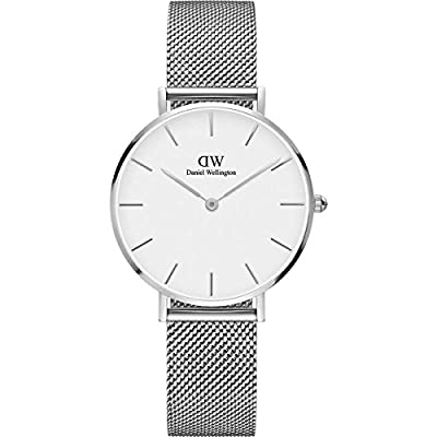 Daniel Wellington Classic Petite Sterling in White Watch