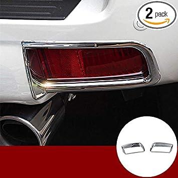 For Toyota  Prado FJ150 2010-2017 ABS Rear Tail  fog lamp light cover trim 2pcs