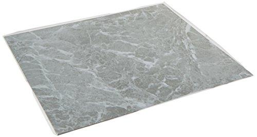 Rivera RT 6422A Biltmore Marble Light Grey Tile - Grey Peel And Stick Floor Tile