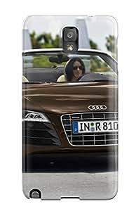 New Audi R8 Spyder 36 Tpu Case Cover, Anti-scratch LatonyaSBlack Phone Case For Galaxy Note 3