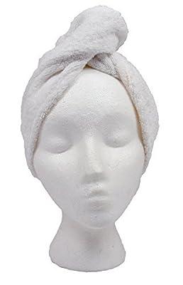 The Original Turbie Twist Cotton Super Absorbent Hair Towel (2 Pack)