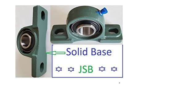 """Solid Base High Quality 5//8/"""" UCP202-10 self-align Pillow block bearings Qty.10"""