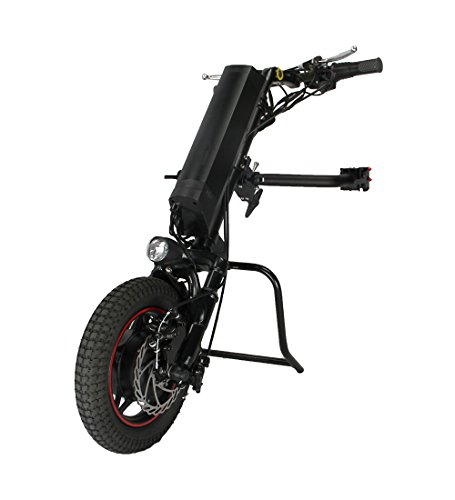 (Cnebikes Electric Wheelchair Handcycle Wheelchair Attachment 36V 250W with 10.4Ah Battery)