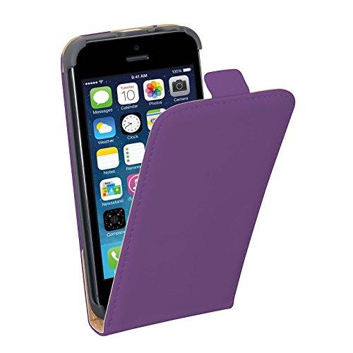 PEDEA Étui pour Apple iPhone 5/5S–Violet