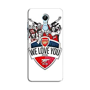 Cover It Up - Arsenal WLYou Redmi 5 Hard Case