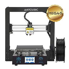 3D Drucker mit Vollmetall-Rahmen, Heizbett und 1,75 mm Filamente TPU, PLA, ABS