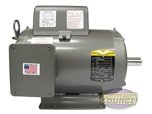 Baldor L1510T General Purpose AC Motor, Single Phase, 215...