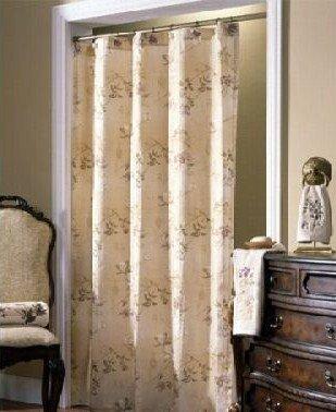 (Croscill Sheer Fabric Shower Curtain Ridgewood)
