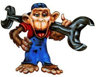 grease monkey decal - 7