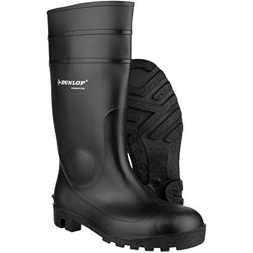 Dunlop - Botas de agua de seguridad estilo Wellingtons modelo FS1800/171BV para hombre negro