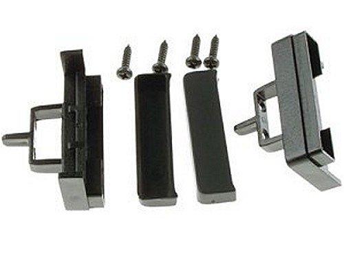 Dietz Audiotechnik compatible con AUDI A4 B5 7//1999 11//2000 A6 3//1998 10//2999 A8 Embellecedor para radio de coche