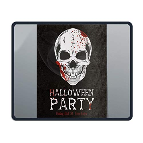 Mouse Pad,Halloween Printable Flyer Printed Mousepad Non Slip Rubber Mouse pad Gaming Mouse Pad for $<!--$4.56-->