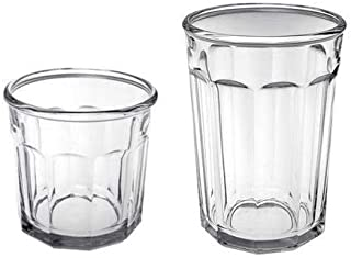 product image for Arc International Luminarc Working Glass 16-Piece Drinkware Set, 8 each Cooler 21 oz. and DOF 14oz - Set of 2
