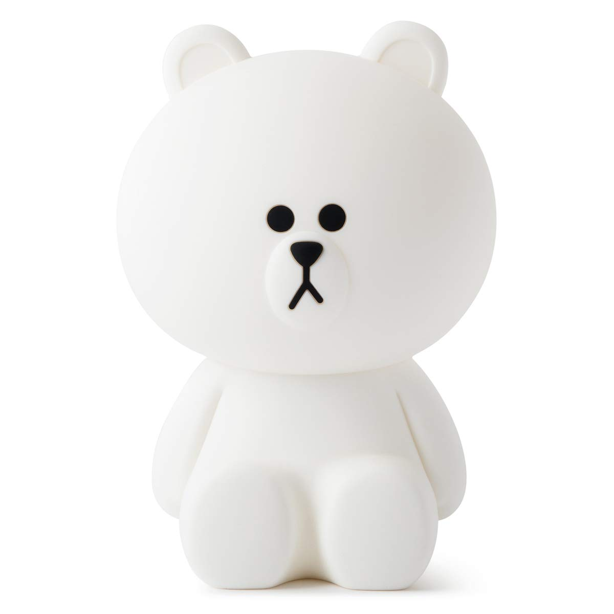Line Friends Cute Remote Lamp - Brown Character Bedside Night Mood Light Desk Accessory