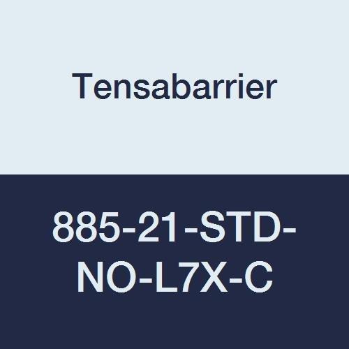 7 6 Length Dark Blue Belt Plastic Tensabarrier 885-21-STD-NO-L7X-C Post Red 2.5 Wide 16 Length 38 Height