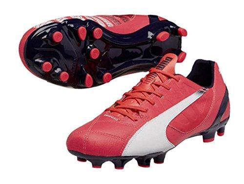 blanc rose Evospeed Homme marine Chaussures Puma 3 FG de Football 3 PxqRv