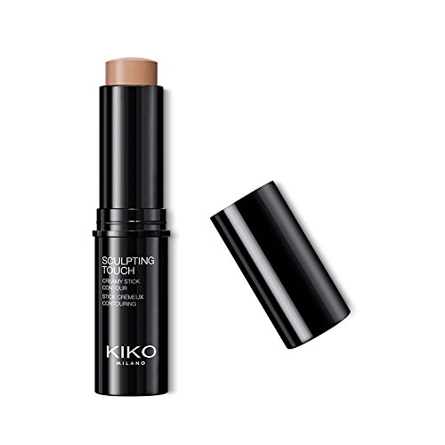 KIKO MILANO - Cream Contour Stick: Creamy Texture and Matte Finish Contouring Stick | Color Hazelnut | Cruelty Free | Hypoallergenic | Made in Italy