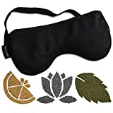 Calm & Cozy Premium Eye Pillow | Weighted with Flaxseed & Includes Real