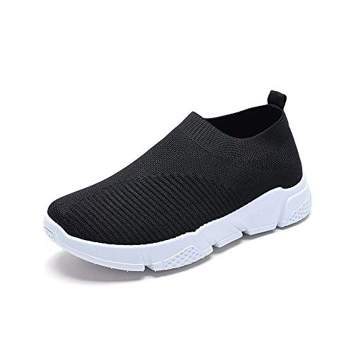 Wonvatu Walking Shoes for Women Lightweight Athletic Slip-On Running Shoes Fashion Sneakers Sports Shoes ()
