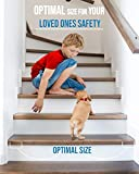 """EdenProducts(15-PACK)Pre Cut Transparent 24""""x4"""" Anti Slip Strips Non Slip, Safety For Kids, Elders And Pets, Adhesive Stair / Floor Treads, Indoor, Outdoor, Prevents Slipping, EASY Install, PVC FREE"""