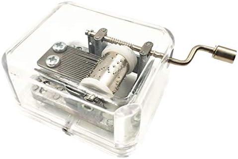 Caja de música Transparente con Mecanismo de arílico, Caja de ...