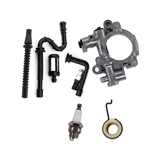 AISEN Oil Pump Oiler Worm Gear Spring for Stihl MS290 MS390 MS310 029 039 Chainsaw 1127 640 3200 1127 640 3204