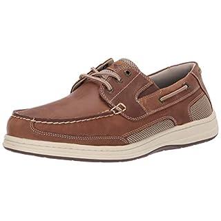 Dockers Men's Beacon Boat Shoe, Dark Tan, 10.5 M US