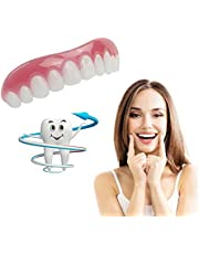 Artificial Braces Smile False Tooth Silicone Whitening Dentures Comfort for Cover up Crooked Stained Missing Chipped Teeth