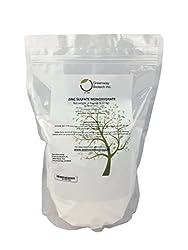 Organic Zinc Sulfate Powder Monohydrate Plus Sulfur Greenway Biotech Brand 5 Pounds