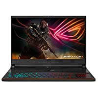 "ROG Zephyrus S Ultra Slim Gaming Laptop, 15.6"" 144Hz IPS-Type, Intel i7-8750H Processor, GeForce GTX 1070, 16GB DDR4, 512GB PCIe NVMe SSD, Military-grade Metal Chassis, Windows 10 - GX531GS-AH76"
