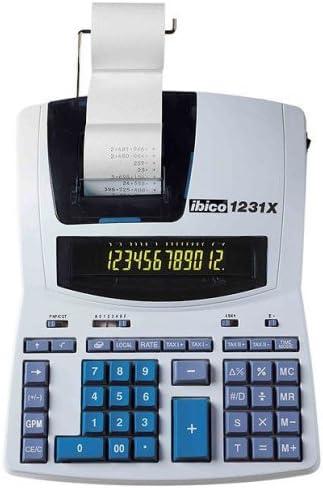 Ibico IB404009 - Calculadora impresora, 12 dígitos: Amazon.es ...
