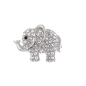 Brooches Store Broche, cristales de Swarovski, Pequeño, Elefante