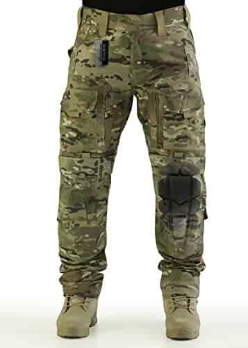 1f325977 ZAPT Breathable Ripstop Fabric Pants Military Combat Multi-Pocket Molle  Tactical Pants with EVA Knee