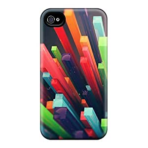 CaterolineWramight Design High Quality 3d Bars Covers Cases With Excellent Style For Iphone 4/4s
