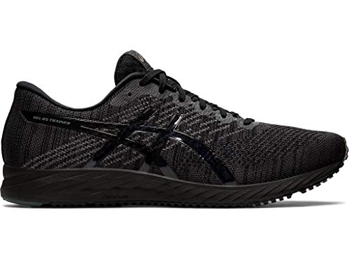 ASICS Men's Gel-DS Trainer 24 Running Shoes, 10.5M, Black/Black