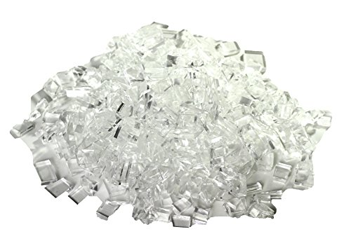 Rubber Glass Broken Safety Glass or Tempered Style Professional Movie or Theatre Props - 1lb Pack by NewRuleFX (Image #1)