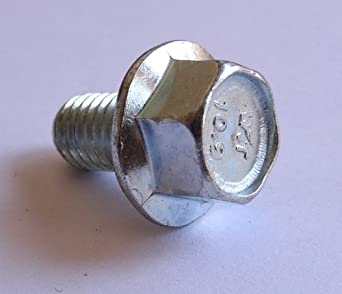 Te-Co Series 803 4 Pcs. Flange Nuts 5//16-18 Thread x 3//4 OAL