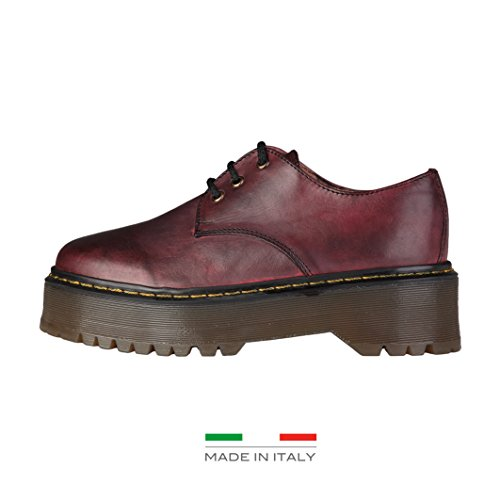 Lublin Ana Mujer Zapatos Lisbet Burdeos qaadf6x