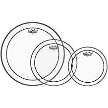 """Remo PP-1470-PS Pinstripe Clear Tom Drumhead Pack - 10"""", 12"""" & 16"""""""