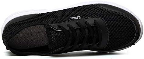 男性用アスレチックスポーツシューズレースアップ通気性軽量メッシュ生地ウォーキングランニング走行ファッションスニーカー 快適な男性のために設計