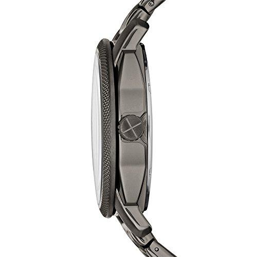 Fossil Men's FS4774 Machine Smoke Stainless Steel Bracelet Watch by Fossil (Image #1)