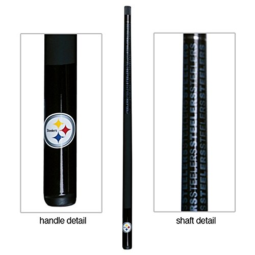 (Eliminator Pittsburgh Steelers Billiard Pool Cue Stick)
