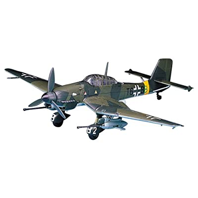 "Academy JU87G-1 Stuka ""Tank Buster"" Model Kit: Toys & Games"