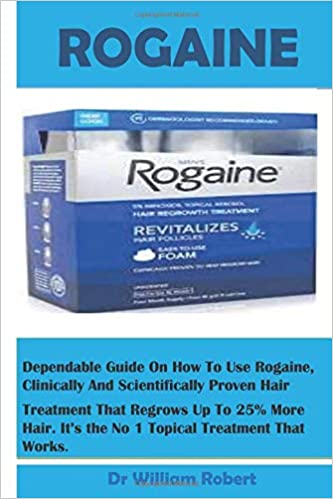 ROGAINE: Regrow Fuller Hair Faster With This FDA-approved Hair Regrowth Product, Its Benefits, How To Use And Reasons Why You Need It..
