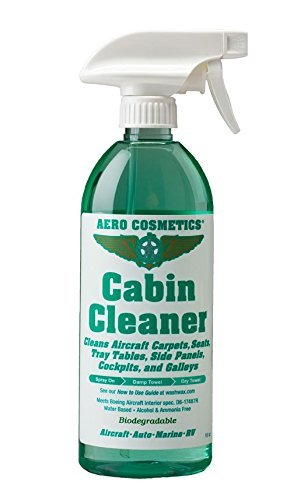 Aircraft Quality Cabin Cleaner for your Car Boat and RV