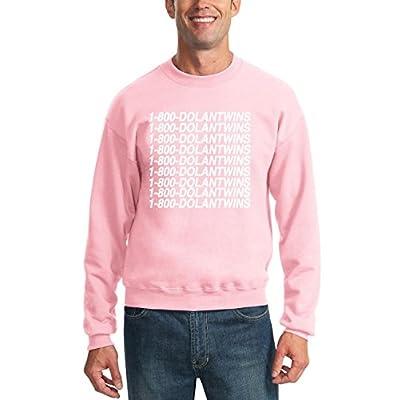 c64c60833 1-800-DolanTwins | Dolan Twins | Vine Youtube Unisex Crewneck Graphic  Sweatshirt