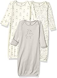 Touched by Nature Baby-Boys Organic Cotton Gown